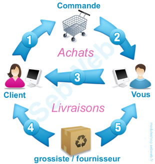 drop shipping france