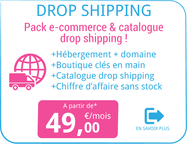 Pack SebWeb®EcoShop Dropshipping